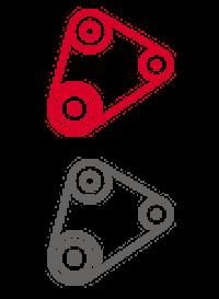 Icône courroie de distribution