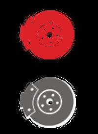 Icône disques de freins