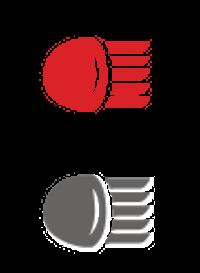 Icône éclairage automobile