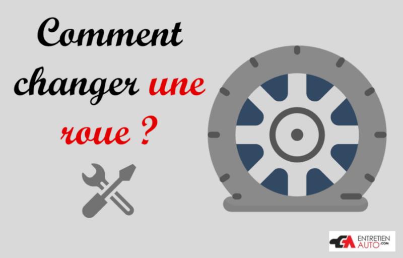 Pneu crevé : comment changer une roue ?