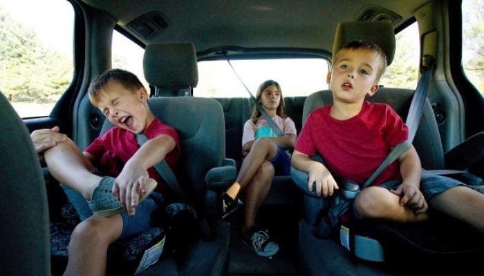 Enfants en voiture : de 3 à 10 ans