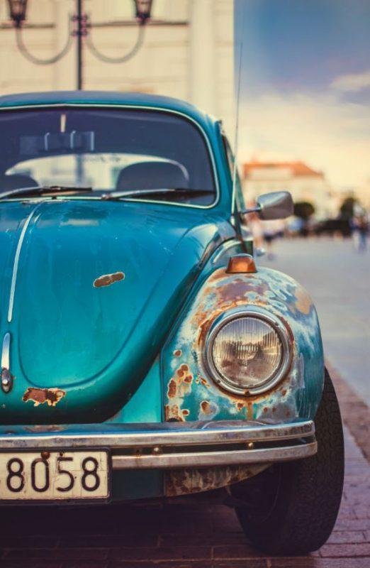 Comment se débarrasser de sa vieille automobile toute rouillée ?